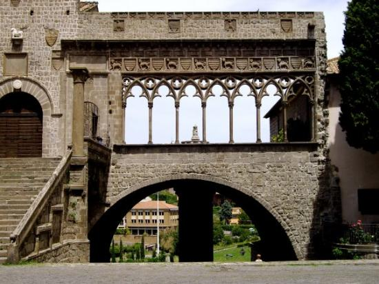 Viterbo, Italy: beautiful arches