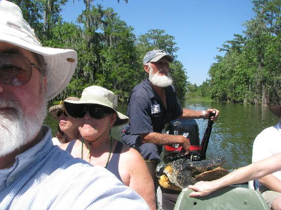 Saint Martinville, LA: Norbert LeBlanc  -  LeBlanc Swamp tours
