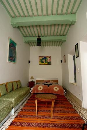 Riad Dar Afram: One of the rooms