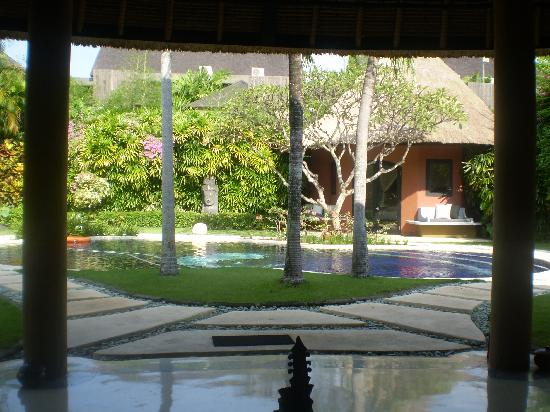 The Villas Bali Hotel & Spa: A view from the living area of Villa 19
