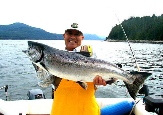Νησί Quadra, Καναδάς: Quadra Island Salmon Fishing Carters