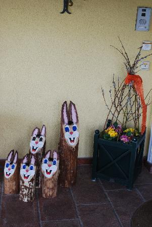 Hotel-Pension Bloberger Hof: Easter approaching