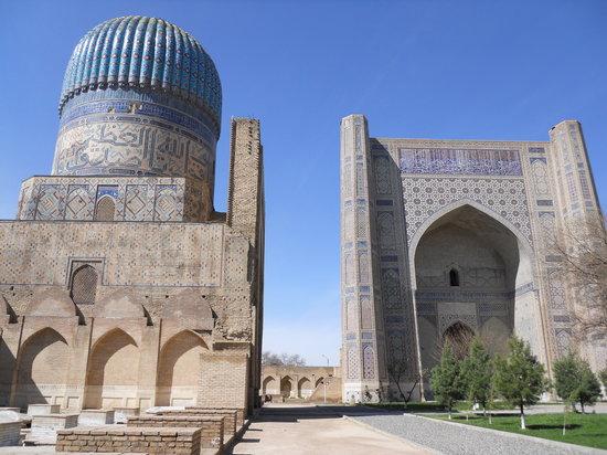 Uzbekistán: サマルカンドの青
