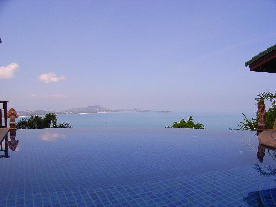 Sandalwood Luxury Villas: Infinity pool (nice and deep)