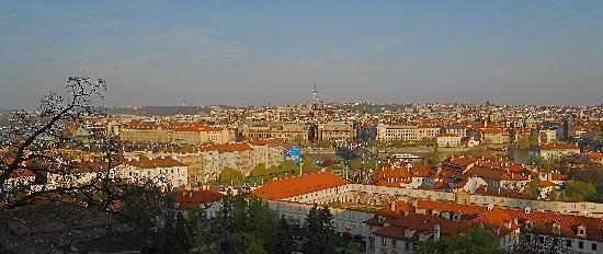 Private Prague Guide Day Tours: Prague from Castle area
