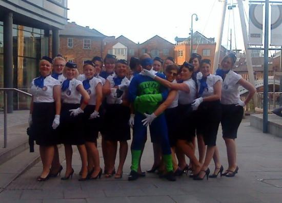 Leeds, UK: The favourite moment of the Stag do for all members of the party!