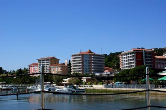 Portoroz, سلوفينيا: Portoroz pier