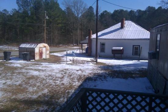 Raleigh, Kuzey Carolina: 1 of my aunt's house..