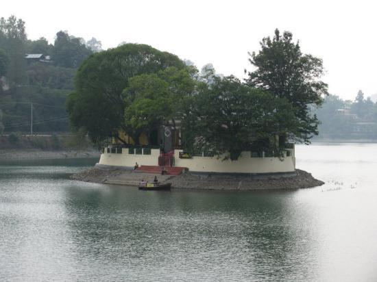 Nainital Hill Station - Bike Rental services: Vimtal - Aquarium at the center