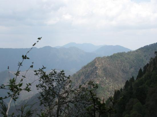 Nainital, Inde : The View point from the Naina peak