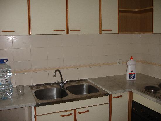 Apartaments Condado: Kitchen