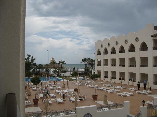 Hotel Mac Puerto Marina Benalmadena: Vista da terrazzino