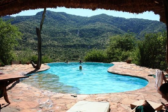 Il Ngwesi Lodge: swimming pool