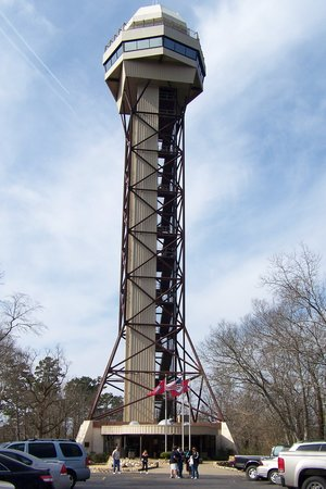 ‪هوت سبرينجز, أركنساس: the Hot Springs Mountain Tower.‬