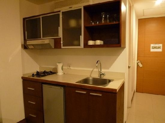Sunset Residence Condotel: Sunset Condotel -2bed-Kitchen