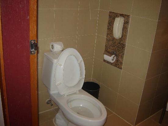 Capitol Hotel: Bathroom