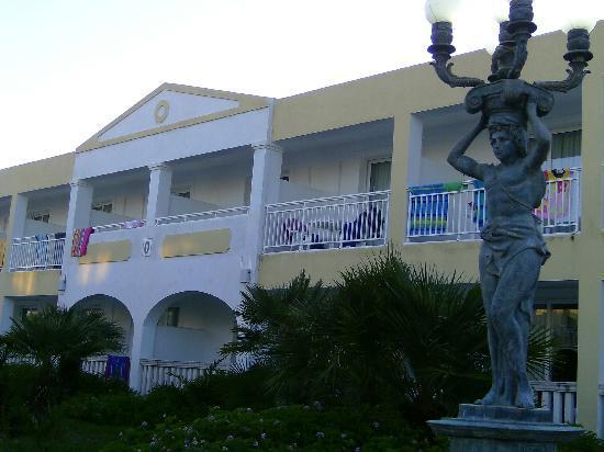 Agios Georgios, Grækenland: Notre bâtiment