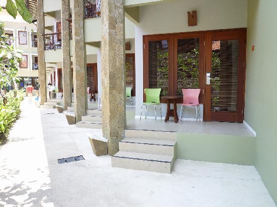 All Seasons Legian Bali: All Seasons Legian-Terras