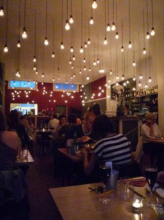 Quartier Libre: View of the restaurant