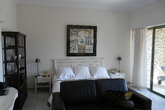 Hotel Les Bories & Spa: la chambre