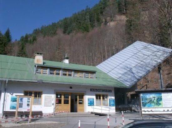 بافاريا, ألمانيا: startingpoint of the cableway