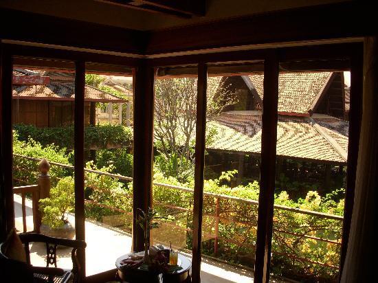 Angkor Village Hotel: vue de notre chambre Delux
