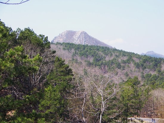 Little Rock, AR: a view of Pinnacle mountain from the overlook