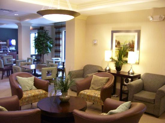 Holiday Inn Express Hotel & Suites Smyrna-Nashville Area: Lobby shot