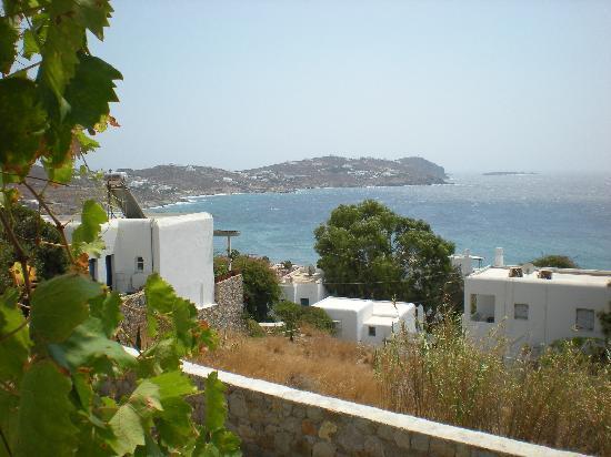 Hippie Chic Hotel Mykonos : vista dallo studio