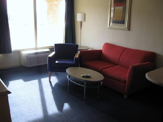 Comfortable Living Room In Suite Picture Of Red Roof Inn