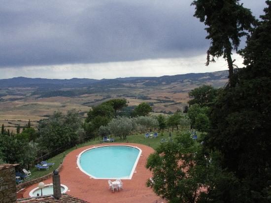 Villa Rioddi: vue de la chambre