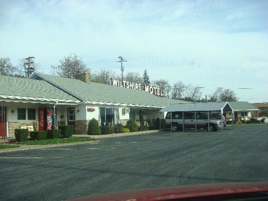 Wiltshire Motel: motel reception