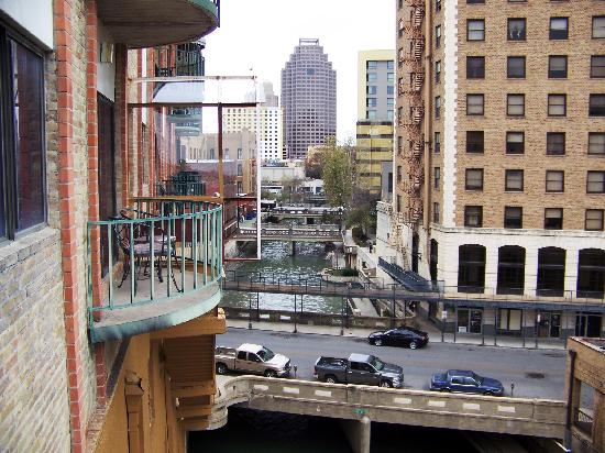View From Our Balcony Picture Of Riverwalk Plaza Hotel