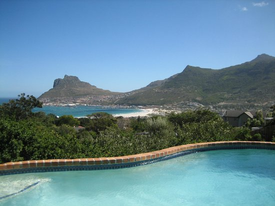 Amblewood Guest House: Houtbay view