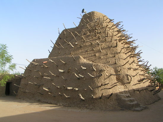 ‪‪Gao‬, مالي: Tomb of Askia, May 2009‬