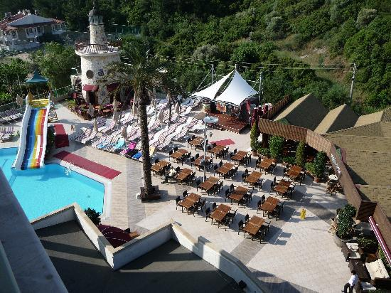 Grand Cettia Hotel: View from our room
