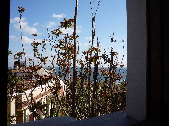 Antique Hotel: Blick vom Zimmer