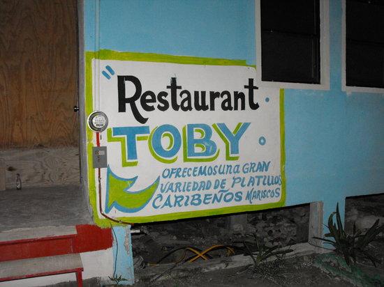 Toby's Restaurant: toby's