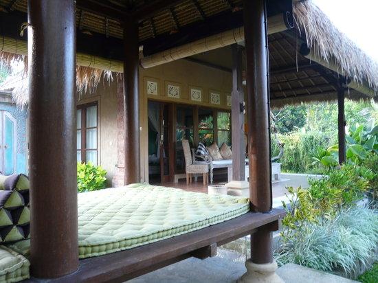 Puri Taman Sari: lit de repos