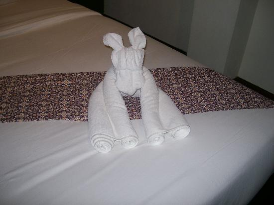 Aura Relaxing & Spa Hotel : They make the towels look like dogs