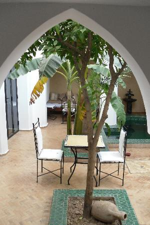The courtyard Dar Soukaina