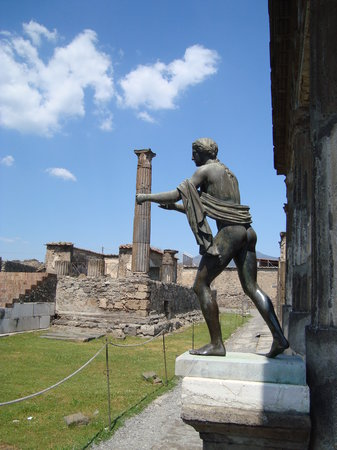 UNA Hotel Napoli: Pompeii