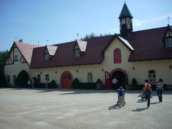 Merrimack, Νιού Χάμσαϊρ: The stable where the Clydesdales are housed