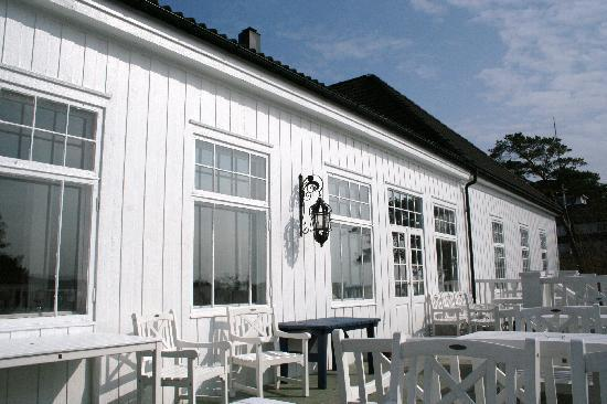 Langesund Bad: Veranda