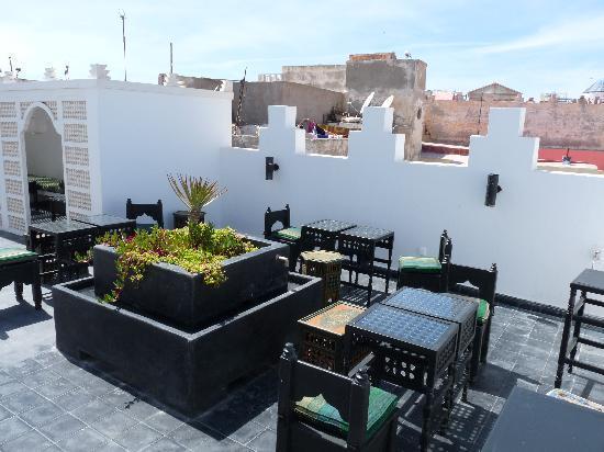 Riad Malaika : Riad Malaïka terrace