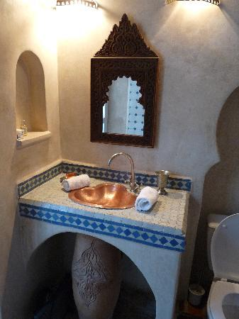 Riad Malaika : Bathroom in our alternative Double Room