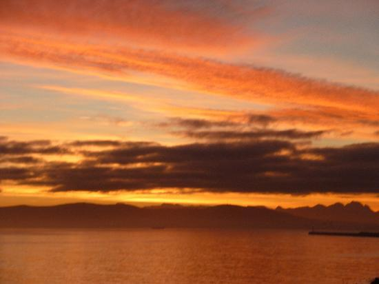 Radisson Blu Hotel Waterfront, Cape Town : sunset says it all