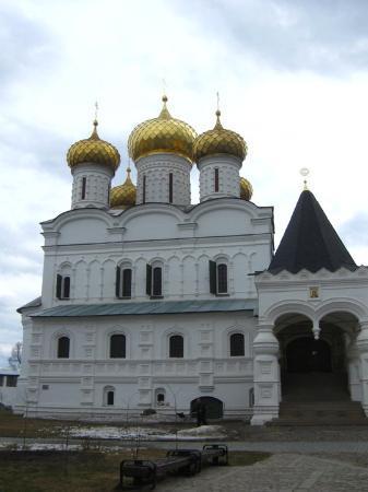 Kostroma, Russia: Троицкий собор. Ипатьевский монастырь