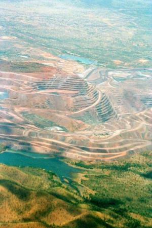 Kununurra, Australien: Argyle diamond mine - only place on earth where PINK diamonds are found!