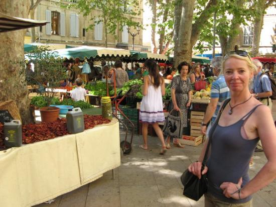 Αιξ-Αν-Προβάνς, Γαλλία: Markt in Aix-en-Provence